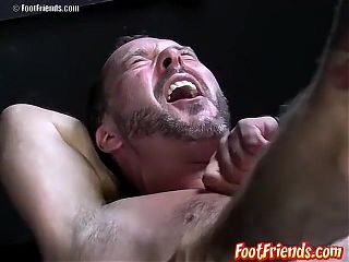 Hillbilly twink Bud eagerly awaits for Franco to tickle him
