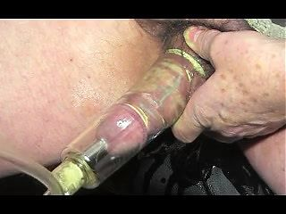 pumping sounding urethral ballbusting cock man gay trans